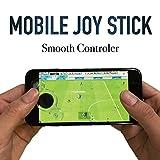 【2個セット】モバイルジョイスティック スマホ対応/タブレット対応 iPhone/Android機種対応モデル 吸盤式 360度操作可能 ゲームコントローラー ゲームパット