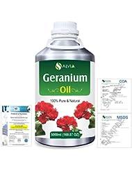 Geranium (Pelargonium Geranium) 100% Natural Pure Essential Oil 5000ml/169fl.oz.
