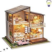 手作りの3Dパズルドールハウスモデルセットギフト、クリエイティブDIY家具セットバレンタインデーギフト誕生日ギフト装飾玩具コレクション