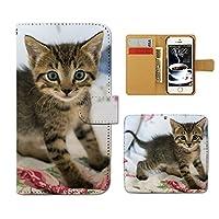 (ティアラ) Tiara Galaxy Active neo SC-01H スマホケース 手帳型 ねこ 手帳ケース カバー 猫 ねこ ネコ 写真 ペット 子猫 F0267010084101