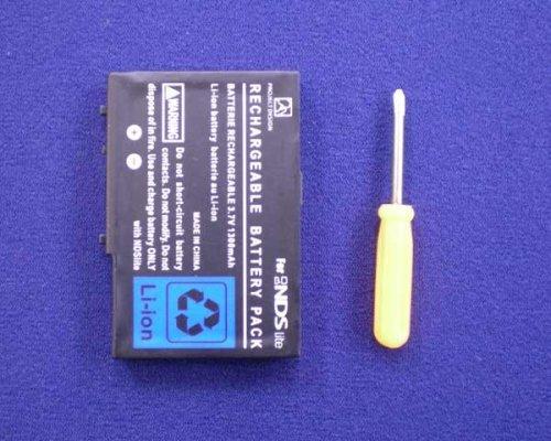 任天堂 DS Lite用 バッテリー 交換電池(1600mAh)-532657...