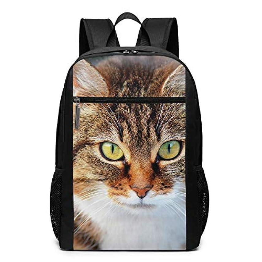 概してメインヒューバートハドソンMy Life リュックサック 猫 太い メンズ バックパック リ ュック デイパック 大 おしゃれ 出張/旅行/通勤/アウトドアに適用 大容量 多機能 人気 学生 高校生 (17インチ)