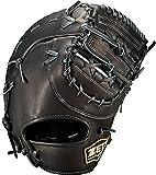 ゼット(ZETT) 軟式野球 ファーストミット ウィニングロード ファースト用 左投げ用 ブラック(1900) BRFB33113