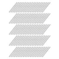 uxcell 丸棒 ラウンドシャフトロッド 鋼製 2mm直径 32mm長さ RCカーアクスル RCモデル用 100個入り