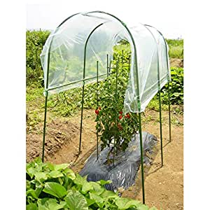 【菜園アーチ・ジョイントの雨よけシートや雨よけハウスに】DAIM 菜園雨ヨケセット
