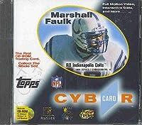 Toppsマーシャル・フォークCybercard CD - ROM Tradingカード