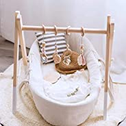 Okawari Home Baby Gym, Wood, Natural Stroller Toys, Bed Hanging, Educational Toys, Set Items, Wooden Toys, Bab