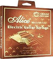 Alice Electric Guitar Strings Set AWR58 Light .010 .013 .017 .026 .036 .046 酸化防止コーティング [並行輸入品]