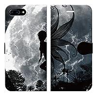 iPhone8Plus 7Plus 6sPlus 6Plus ベルトなし 手帳型 ケース カバー FANTASY02 ブレインズ 綺麗 妖精 ピクシー 宇宙柄 宇宙 幻想 風景 月 月食 日食 童話 夜空