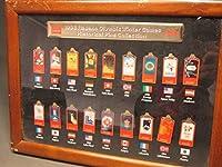 1998年 長野オリンピック 冬季オリンピック ピンズコレクション バッジ 18個セット 額入り マクドナルド コカコーラ
