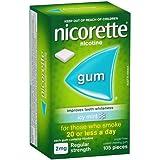 Nicorette Gum Icy Mint 2mg 105