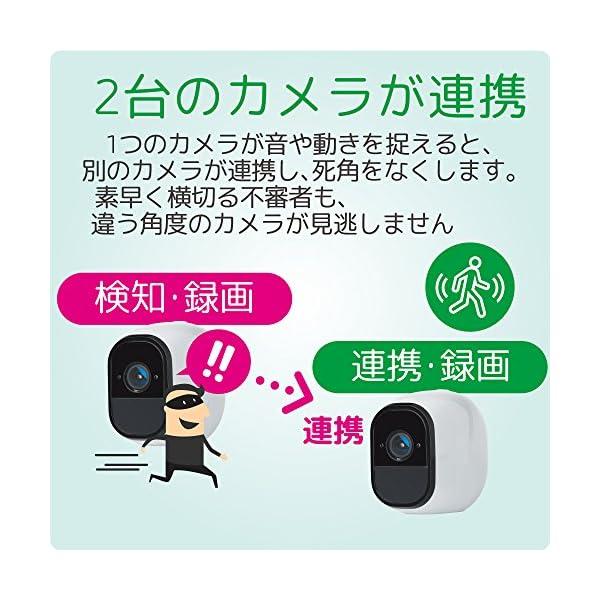 NETGEAR クラウド ネットワークカメラ ...の紹介画像5