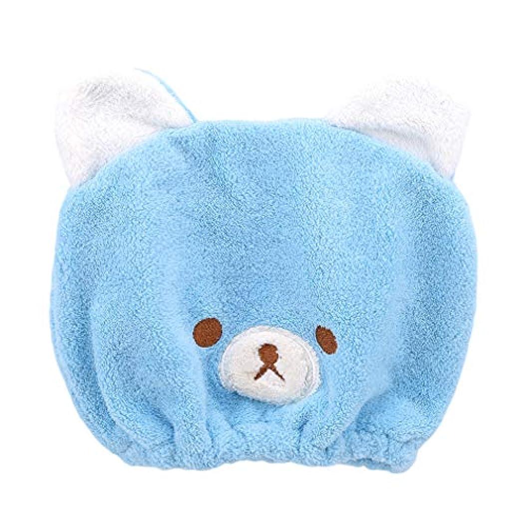 タップ対応探検HKUN タオルキャップ ヘアドライタオル 動物 子供 ドライキャップ ヘアキャップ 吸水タオル 速乾 可愛い お風呂