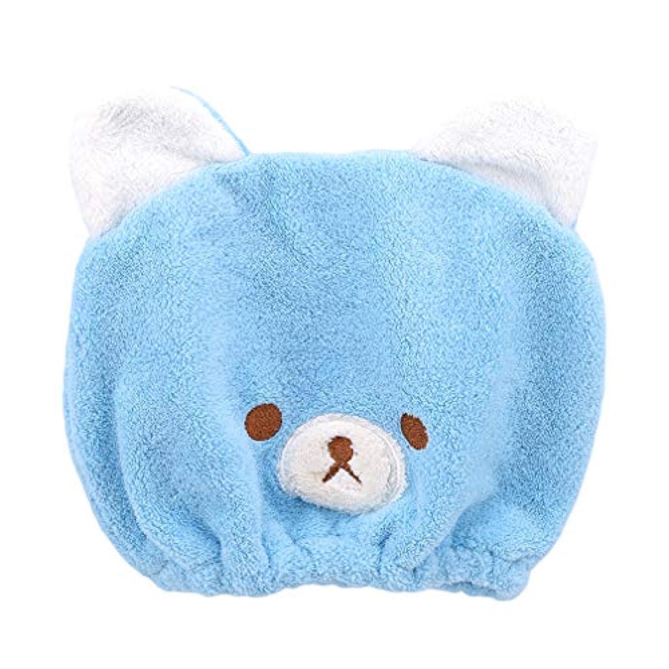 規制熱狂的なユニークなHKUN タオルキャップ ヘアドライタオル 動物 子供 ドライキャップ ヘアキャップ 吸水タオル 速乾 可愛い お風呂
