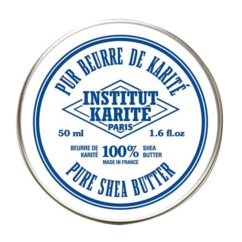 電極警戒見ましたINSTITUT KARITE  100%Pure Shea Butter シアバター(No Fragrance)50ml