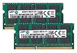 サムスン純正 PC3-10600(DDR3-1333) SO-DIMM 4GB×2枚組 1.5V 204pin ノートPC用メモリ mac対応