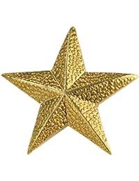 100のセットラペルピン – ゴールドスターピン