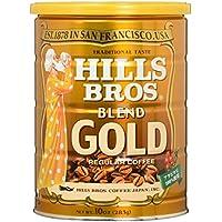 ヒルス コーヒー 豆(粉) ブレンドゴールド 283g