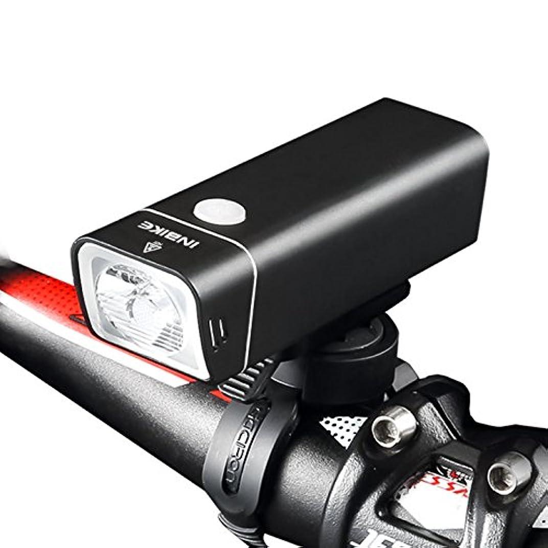 前奏曲受信機回復するINBIKE(インバイク)自転車 ライト 防水 USB充電式 高輝度 マウンテンバイク ロードバイク クロスバイク 人気 クリスマス 5モード 懐中電灯 ホルダー付き