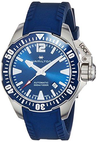 [ハミルトン] 腕時計 カーキ ネイビー オープン ウォーター ダイバーズ H77705345 正規輸入品 ブルー