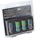 KYO-EI(協永産業) Kics MONOLITH(モノリス) T1/06 サイズ:M12XP1.25 ネオクロ 4個入 MN03N-4P
