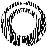 ルンバ ステッカー デコルン 【ワイルドなアニマル柄のゼブラ】★ラミネート加工で保護★再剥離可能で安心★対応機種:ルンバ 620 621 622 630 650 527 530 537 577 560