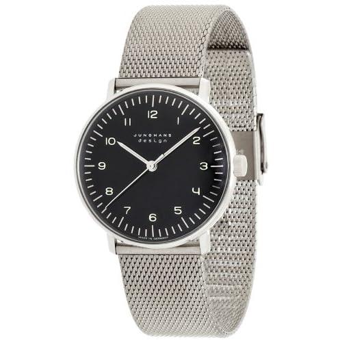 [ユンハンス]JUNGHANS 腕時計 手巻き マックスビル ハンドワインド 027 3702 00M メンズ 【正規輸入品】