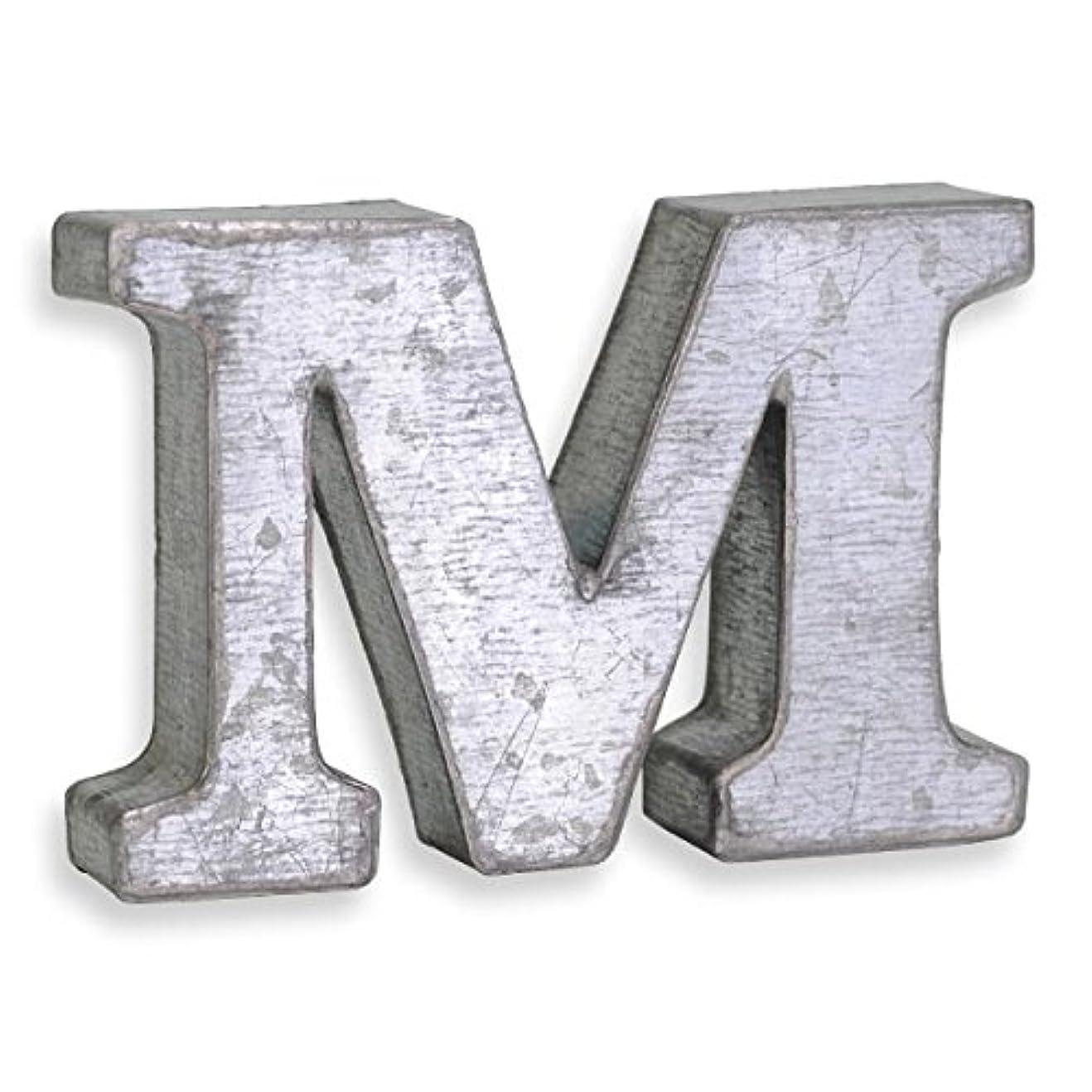 説教するありふれたイソギンチャクアルファベット ブリキ文字 ミニP.C.M 箱文字