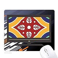 スタイルの装飾的なパターンは、タラベラ ノンスリップラバーマウスパッドはコンピュータゲームのオフィス