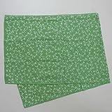 剣道屋 剣道具 面 手拭い(面手ぬぐい 面タオル) 本格染め トンボ TON-11 黄緑