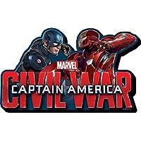 Aquarius Captain America Civil War Face 2 Face Funky Chunky Magnet [並行輸入品]