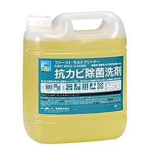 業務用 抗カビ洗剤 ファースト・モルドクリーナー 4L×4本入