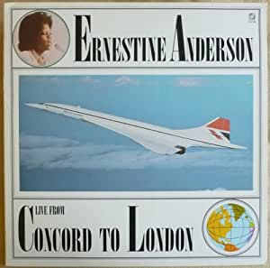 Live From Concord To London - Ernestine Anderson LP
