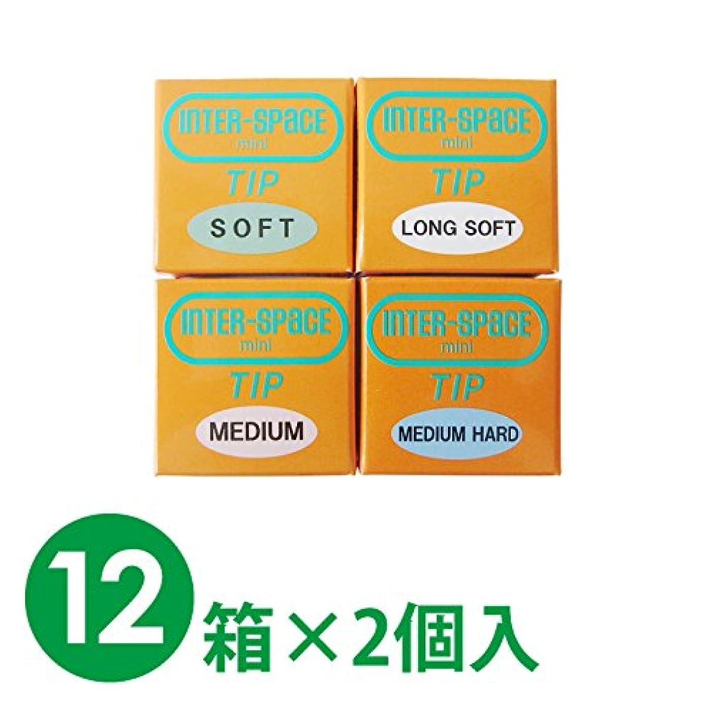 【12箱1セット】モリムラ インタースペース?ミニ 替えチップ 12箱×2個入 (M(ミディアム))