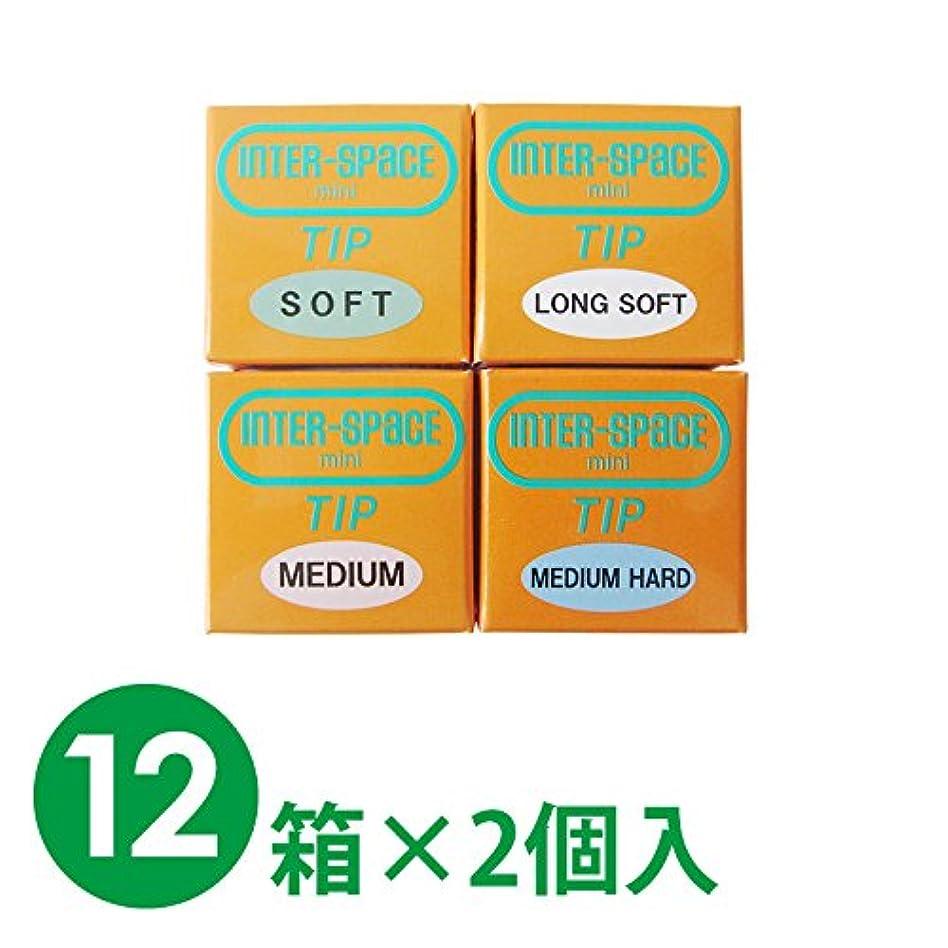 芽少ない愛する【12箱1セット】モリムラ インタースペース?ミニ 替えチップ 12箱×2個入 (S(ソフト))