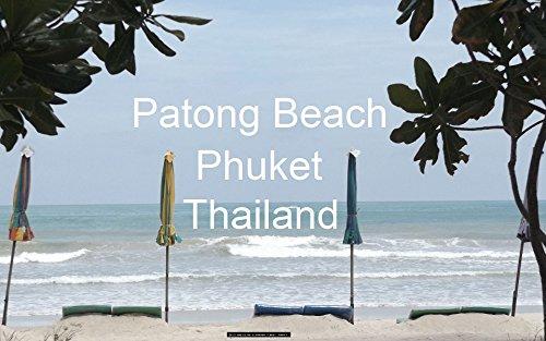 タイ プーケット パトンビーチ 写真集: Travel Photography - Patong Beach, Phuket, Thailand - (English Edition)