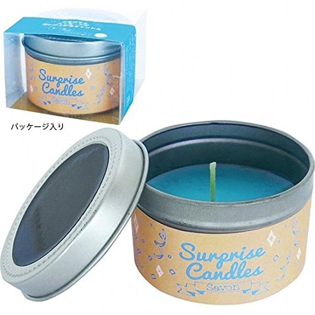 花添付呼び起こすカメヤマキャンドル( kameyama candle ) サプライズキャンドル 「サボン」
