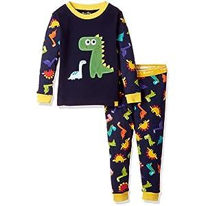 [Vaenait Baby]キッズ子供ベビー服綿100%ルームウェア長袖パジャマ寝間着上下セット Buddy Dino XS