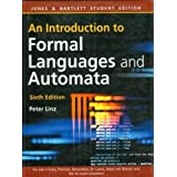Introduction To Formal Languages And Automata, 6 Edition [Mass Market Paperback] [Jan 01, 2016] Peter Linz