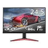 Acer ゲーミング モニター KG251QFbmidpx (24.5インチ/TN/非光沢/フルHD/1ms/144Hz/DisplayPort搭載/スピーカー付)