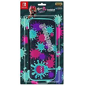 【任天堂ライセンス商品】スプラトゥーン2 ハードポーチ for Nintendo Switch インク×タコ【Nintendo Switch対応】