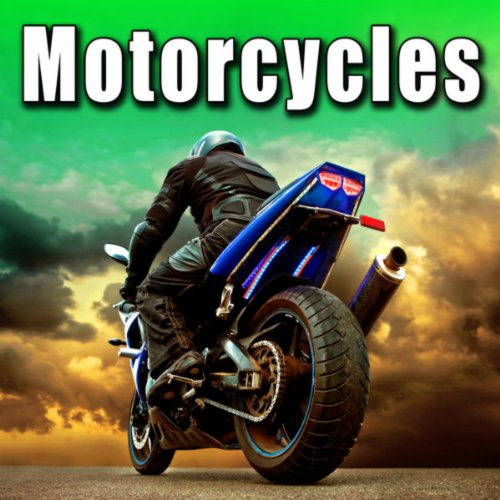 400cc Motorcycle Pulls Up & Shuts Off
