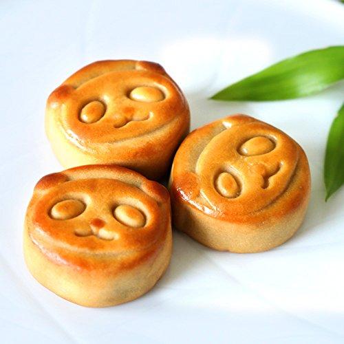パンダ月餅6個入りギフト 横浜中華街 メール便(通常ラッピング)