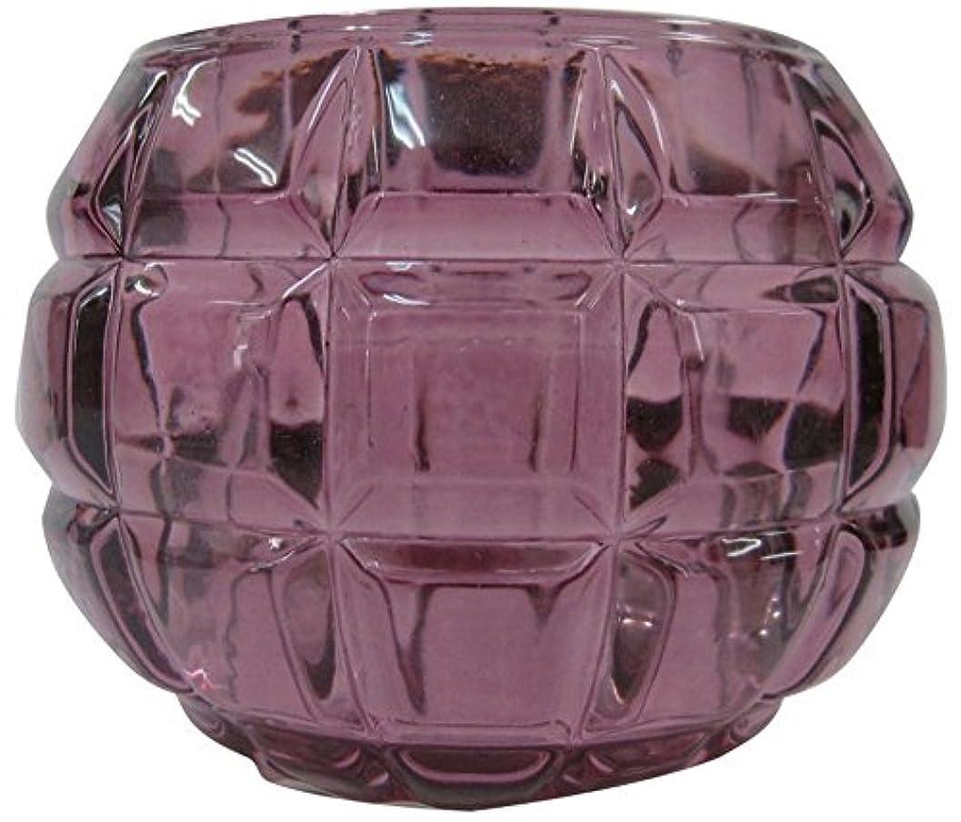 削減編集する参照するノルコーポレーション ガラス キャンドルホルダー ノスタルギッシュ オールドレッド OH-NOH-1-1