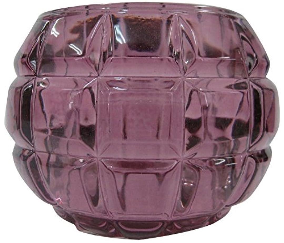 ひらめき充電静けさノルコーポレーション ガラス キャンドルホルダー ノスタルギッシュ オールドレッド OH-NOH-1-1