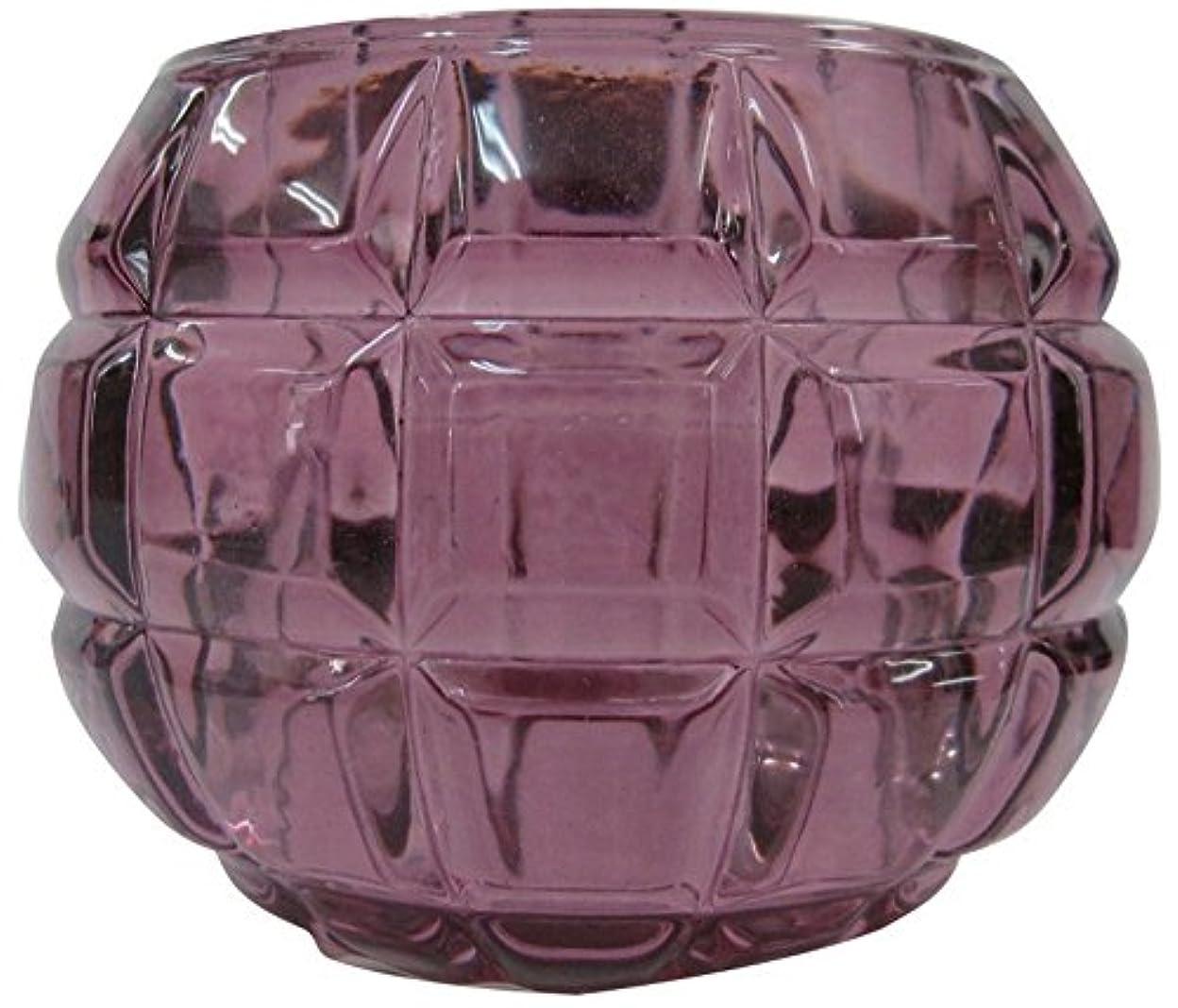 フォージ独占構想するノルコーポレーション ガラス キャンドルホルダー ノスタルギッシュ オールドレッド OH-NOH-1-1