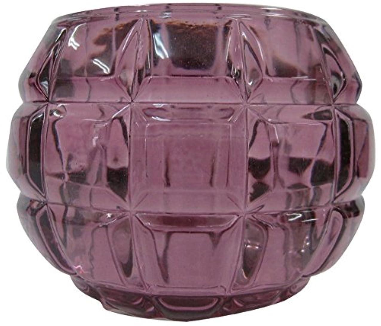 石化するマークされた愛国的なノルコーポレーション ガラス キャンドルホルダー ノスタルギッシュ オールドレッド OH-NOH-1-1