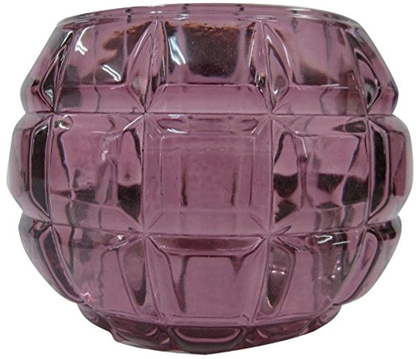 スクラップエーカービタミンノルコーポレーション ガラス キャンドルホルダー ノスタルギッシュ オールドレッド OH-NOH-1-1