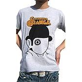 POP Tシャツ MOVIE「時計仕掛けのオレンジ」デザインTシャツ第2弾 CLOCKWORK ORANGE2 (M, GRAY)