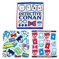 名探偵コナン ハンドタオル 3種セット(コナンスタイル・アイコン・ファインドアウト)